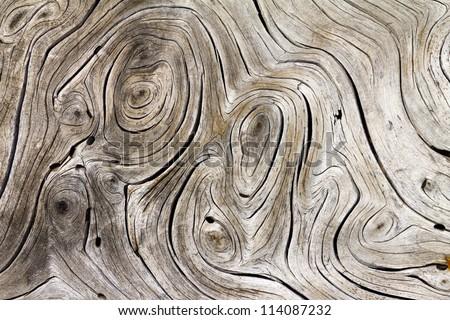 Wooden Swirls Organic Background Texture stock photo