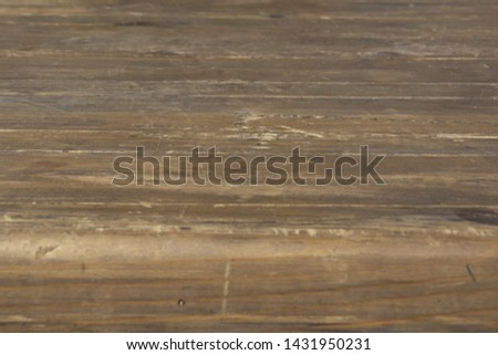 Wooden tabletop with a thick tabletop in perspective #1431950231
