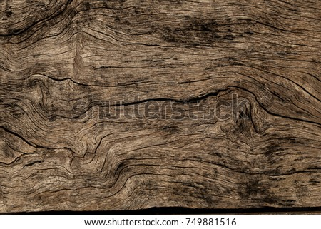 Wooden texture background. Brown wood texture, old wood texture for add text or work design for backdrop product. top view