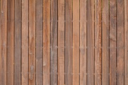 Wooden texture background. Teak wood. ,Close-up shot of old wooden pier with selective focus.