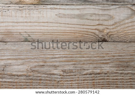 Wooden texture background. three wooden boards with interesting pattern