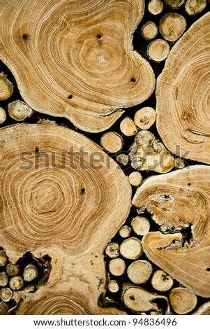Wooden texture. It is possible to use as a background.