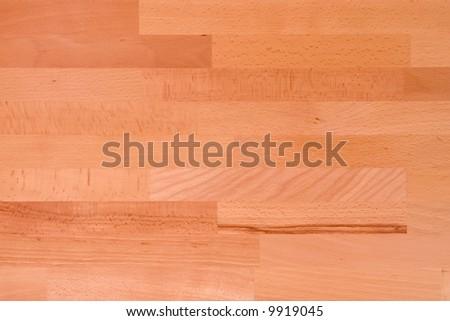 Wooden texture - sample of the light beech - stock photo