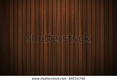 wooden tiles floor texture with dramatic light - stock photo