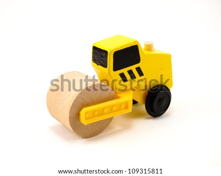 Wooden Toy Construction Roller