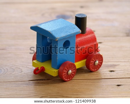 wooden train, wooden toy