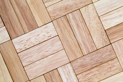 wooden uneven surface made of equal sized cubes made of wood material, bamboo as the material