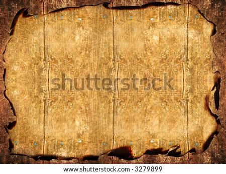 Wooden  vintage background
