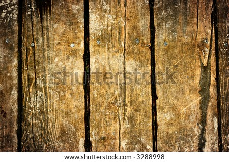 Wooden  vintage background - stock photo