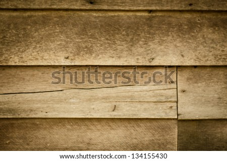 Wooden wall textured for background