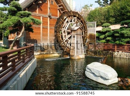 Water Wheel Mill Pictures Wooden Water Wheel Mill