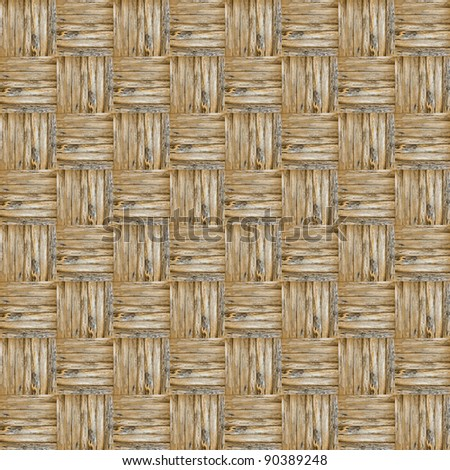 wooden weave texture for background