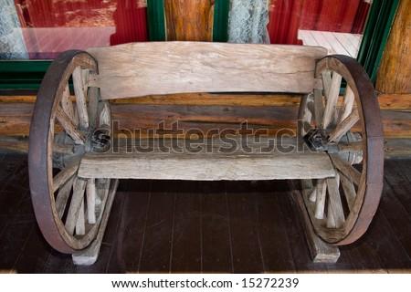 Wooden wheel chair