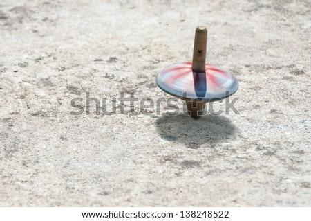 Wooden Whirligig - stock photo