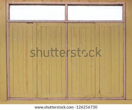 wooden Window for house