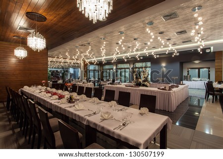 Woodland hotel - Huge restaurant room in hotel