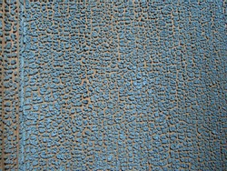 WoodTextured Background - Old Blue Cracked and Peeling Paint