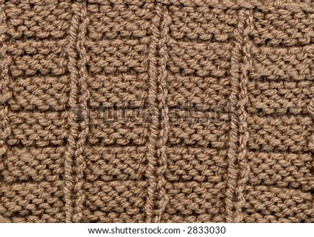 Wool Knitting Texture Background With Horizontal And Vertical ...