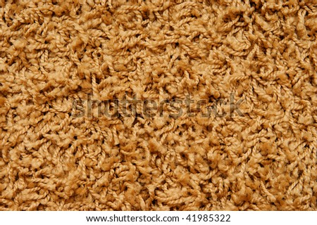 woolen backgroun. carpet with strings texture
