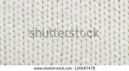 woolen closeup