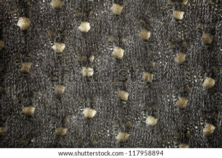 woolen fabric gray detail, texture background