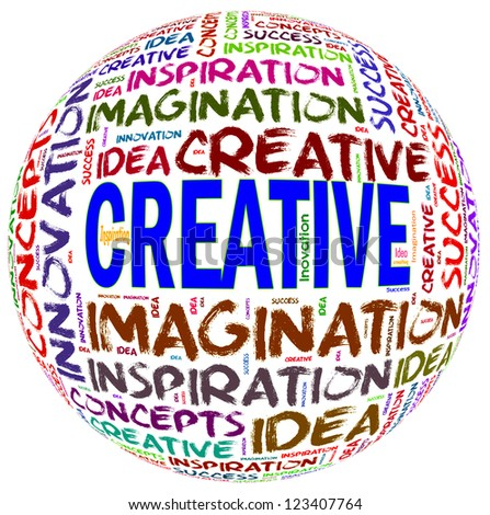Word Cloud of Creative Text