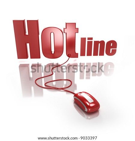 http://image.shutterstock.com/display_pic_with_logo/73208/73208,1201619861,3/stock-photo-word-hotline-in-red-letters-connected-to-a-red-computer-mouse-on-a-white-background-9033397.jpg