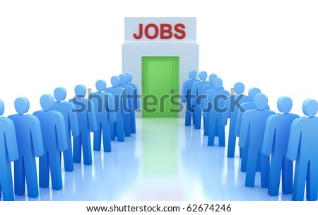 Work Centre : People looking for a job