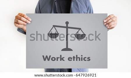 Work ethics Justice Law Order Legal working Professional #647926921