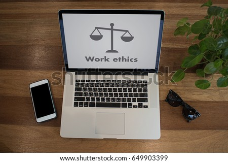 Work ethics Justice Law Order Legal working Professional #649903399