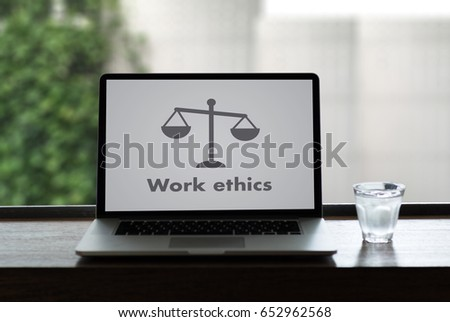 Work ethics Justice Law Order Legal working Professional #652962568