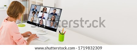 Work From Home Remote Video Conference Call