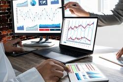 work hard Data Analytics Statistics Information Business Technology