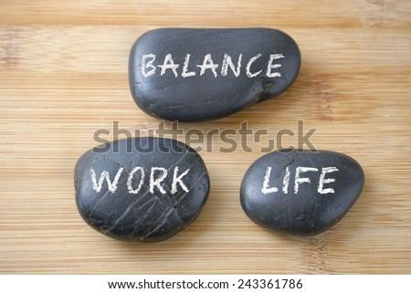 Work-Life Balance concept. #243361786