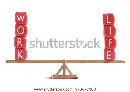 Work life balance concept  #370677308