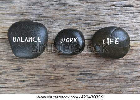 Work-Life Balance concept. #420430396