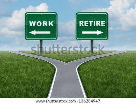Stock options and retirement