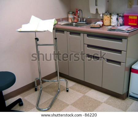 Work station in doctor\'s office