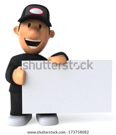 Worker Photo stock ©