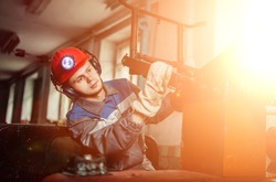 workers of the mining industry, to extract coal. repair of mine equipment. work in the mine.