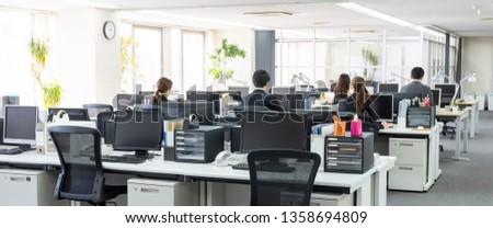 Working businessperson in office.