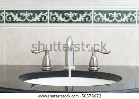 Working mixer tap
