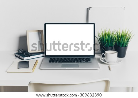 Working place, office