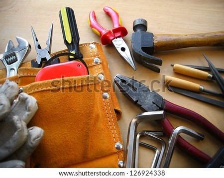 Working tools background
