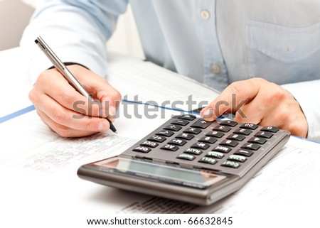 working with calculator