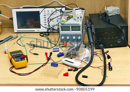 workplace repairman Radio Equipment and Electronics