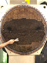 Works for chiller condenser tube cleaning.
