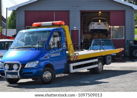 Workshop for cars and vehicle - Kongsvinger, Norway (24th May 2018)