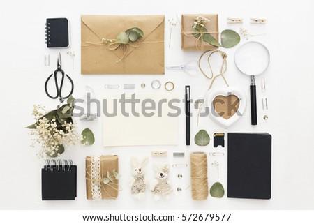 workspace. wedding planning....