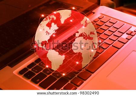 world and keyboard